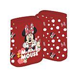 Penar neechipat Minnie Mouse, 1 fermoar, 2 extensii, Rosu