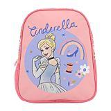 Ghiozdan pentru prescolari Disney Princess Cenusareasa, 1 compartiment, 1 buzunar frontale, Multicolor