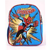 Ghiozdan pentru prescolari Marvel Spider-Man, 1 compartiment, 1 buzunar lateral, Multicolor