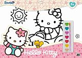 Set de coloriaj A3 Hello Kitty, Multicolor