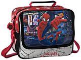 Geanta de umar Marvel Spiderman, 1 compartiment, poliester/PVC, Multicolor