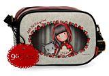 Geanta de umar Gorjuss Little Red, 1 compartiment, piele ecologica/PVC, 23x17x8 cm, Multicolor