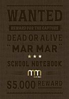 Set 5 notebook-uri matematica A5 Wanted, 96 file