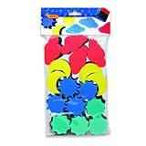 Set 16 stampile cu burete pentru pictura Jovi, Multicolor