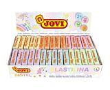Set plastilina 30 bucati Jovi, Multicolor (5 seturi de 6 bucati)