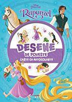 Disney. Printese. Rapunzel. Desene de poveste. Carte cu autocolante