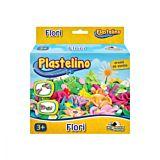 Plastelino, Set plastilina mic Flori, Vafe