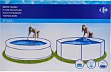 Husa solara pentru piscina Carrefour, 350 cm, Albastru