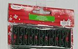 Set 50 de carlige pentru decoratiuni, plastic, Verde inchis