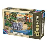 Puzzle Dino D-Toys, 100 piese