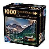 Puzzle Descopera Europa D-Toys, 1000 piese