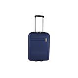 Troler cabina Family cu USB, albastru