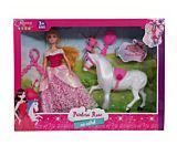 Printesa Rose cu calut si accesorii Regency Toys, plastic, Multicolor