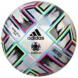 Minge de fotbal Adidas Uniforia Training Euro 2020, Argintiu