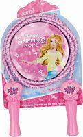 Coarda de sarit pentru copii Funny Spring Rope, Roz