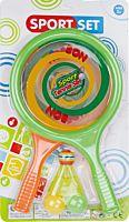 Set 2 palete cu mingi si fluturas Regency, Multicolor