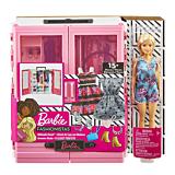 Dulap cu papusa Barbie