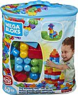 Primele cuburi de construit Mega Blocks, 60 piese