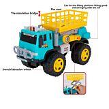 Camion cu elevator Regency Toys, 21.5x39x16 cm, plastic, Multicolor