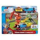 Set motorizat Macaraua Cassia Thomas and Friends Track Star, Multicolor