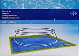 Covor pentru protectia piscinei Carrefour, 482x482 cm, Albastru