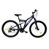 "Bicicleta de munte 27.5"" R2750D Full Suspension Disc Rich, Multicolor"