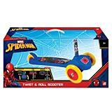 Trotineta cu 3 roti Twist & Roll Spiderman As Wheels, Multicolor