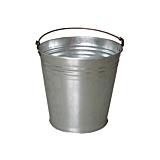 Galeata Evotools, tabla zincata, 28x28x29 cm, Gri