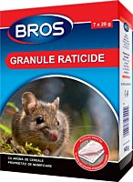 Granule raticide 140 g, Bros