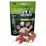 Recompense pentru caini adulti Pet's Dessert, cu carne de rata, 80 g