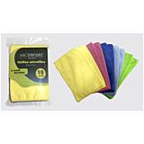 Set 10 Lavete microfibra, Carrefour