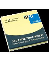 Notes adeziv 75 x 75 mm, 100 file