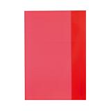 Invelitori A5 rosii translucide Herlitz