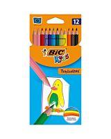 Creioane colorate Tropicolors, 12 bucati