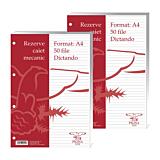 Rezerve pentru caiet mecanic A4 Dictando 50 file, Pigna