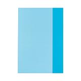 Invelitori A5 PP albastre translucide