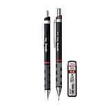 Set creion mecanic Rotring Tikky III Original 0.5 mm cu pix si mine 0.5 mm B