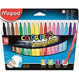 Carioca Maped 18 culori
