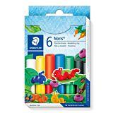 Set 6 plastiline Staedtler, Multicolor