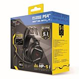 Casti gaming Steelplay HP51, Sunet virtual 5.1, Compatibil PS4, Xbox One, Nintendo Switch, Jack si USB, Negru