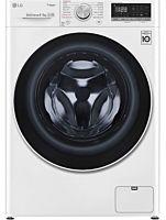 Masina de spalat cu uscator F4DN408S0 LG, 1400 rotatii, Spalare 8 kg, Uscare 5 kg, Clasa D, Direct Drive, Wifi, Alb
