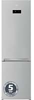 Combina frigorifica Beko RCNA406E40ZMN, 362 Litri, NeoFrost, Clasa E, Display Touch, Gri
