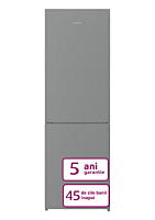Combina frigorifica Arctic AK60366M30NFMT, 324 Litri, H 185.2cm, CLasa F, Gri