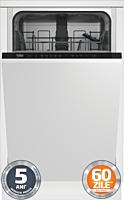 Masina de spalat vase incorporabila Beko DIS35023, 10 seturi, 5 programe, Clasa E