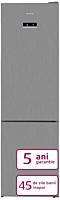 Combina frigorifica Arctic AK60406E40NFMT, Clasa E, 362 Litri, Inox