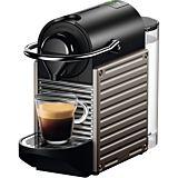 Espressor Pixie C61 Nespresso, Electric Titan, 19bar, 0.7L,  clasa A