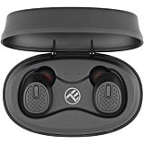 Casti Bluetooth Tellur Mood True Wireless, Bluetooth 5.0, negru
