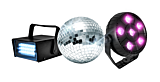 Set Disco Party Koolstar, Disco light, mini stroboscop