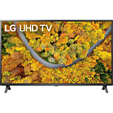 Televizor LED Smart LG 43UP75003LF, 108 cm, 4K Ultra HD, Clasa G, Negru