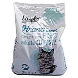 Hrana uscata completa pentru pisici adulte, cu peste, Simpl, 2 kg